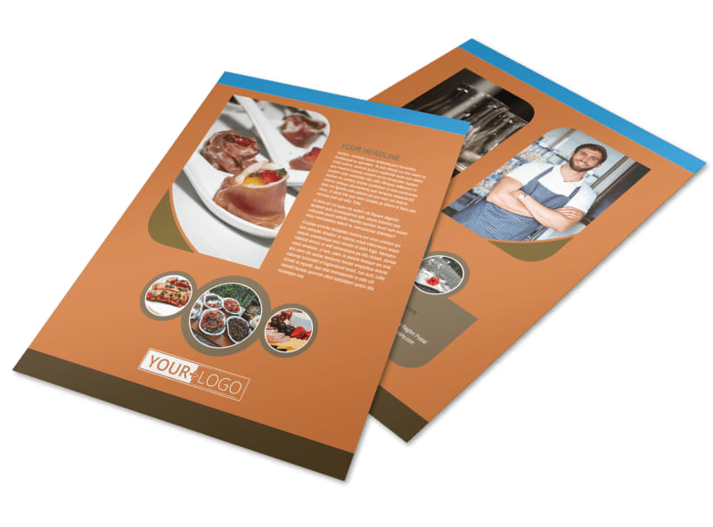 Catering Service Flyer Template Preview 4