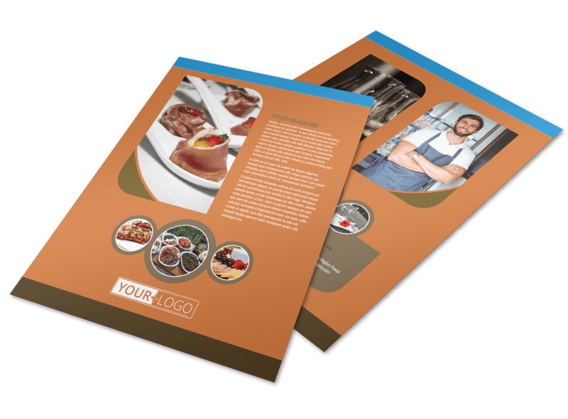 Catering Service Flyer Template Preview 1