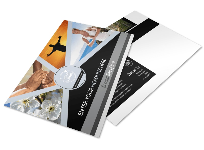 Psychology & Mental Health Center Postcard Template Preview 4