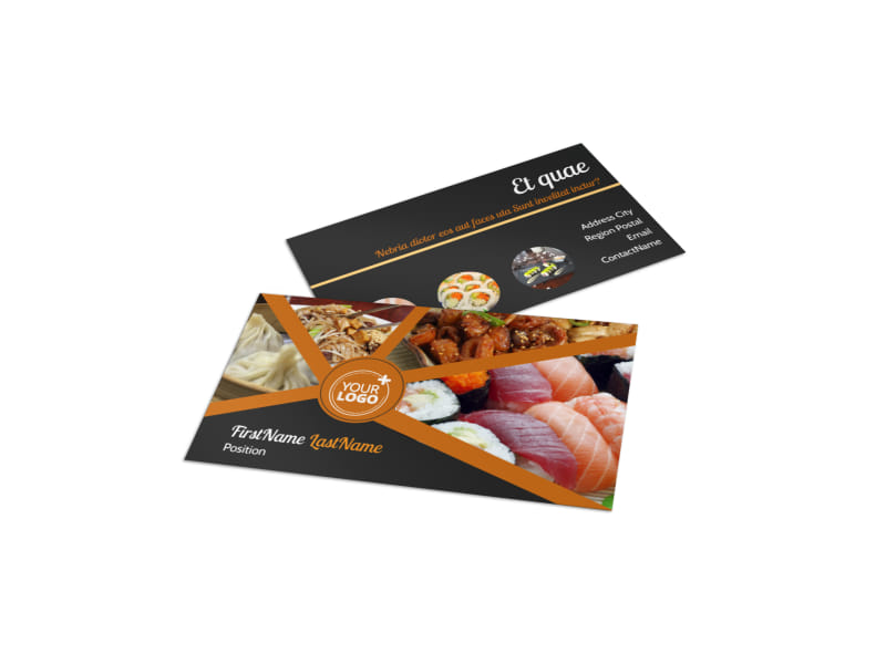 Asian fusion restaurant business card template mycreativeshop asian fusion restaurant business card template colourmoves