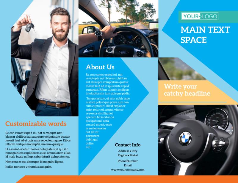 Driving School Brochure Template Preview 2