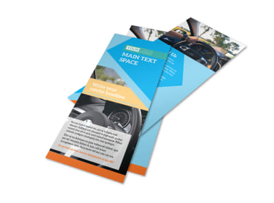 Driving School Flyer Template 2
