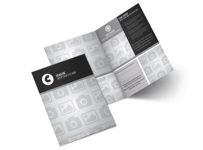 Generic Bi-Fold Brochure Template 8258