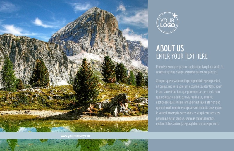 General Photography 2 Postcard Template Preview 2