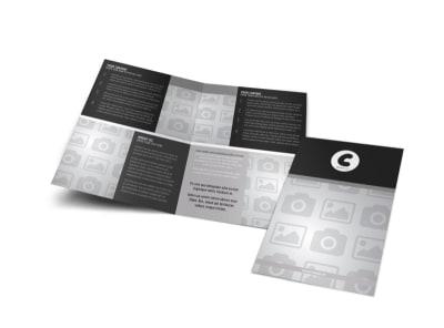 Generic Bi-Fold Brochure Template 8262