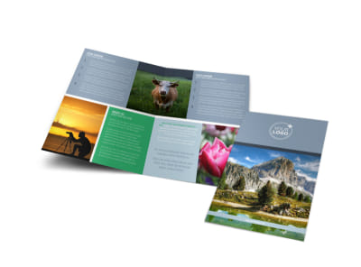 General Photography 2 Bi-Fold Brochure Template
