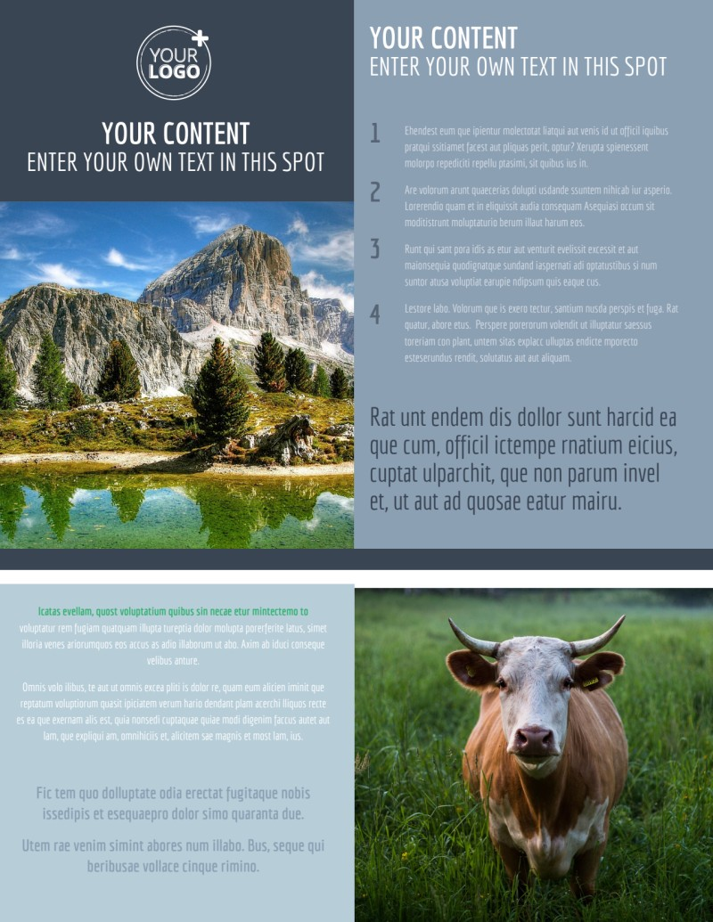 General Photography 2 Flyer Template Preview 2
