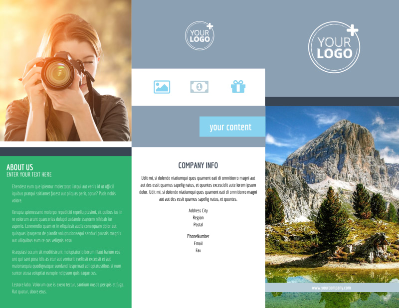 General Photography 2 Brochure Template Preview 2