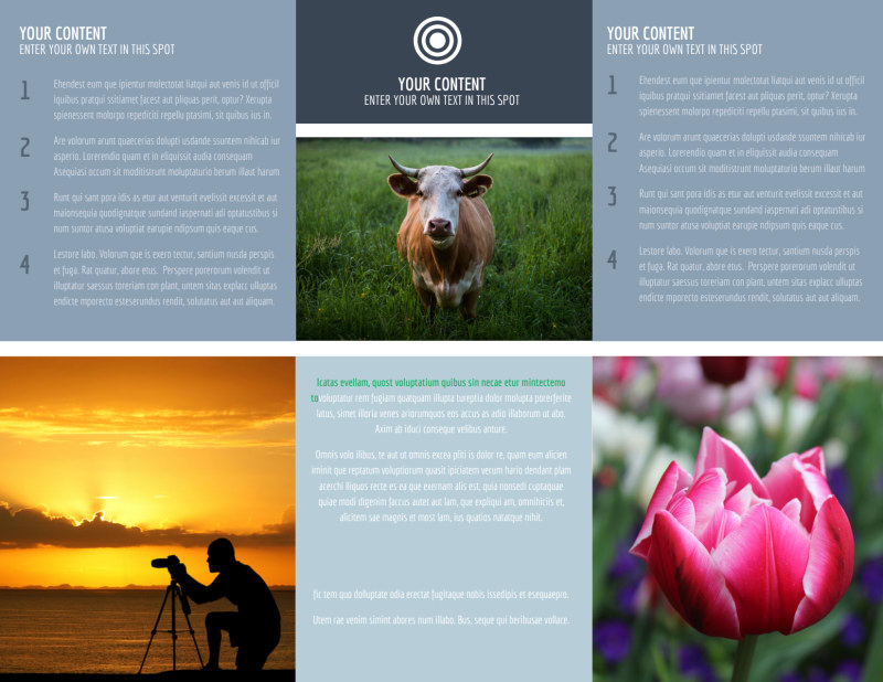 General Photography 2 Brochure Template Preview 3