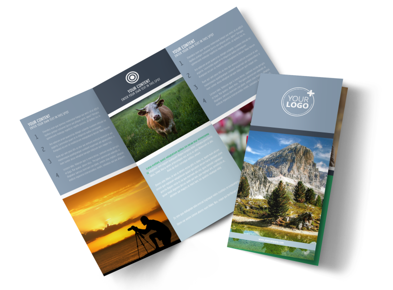 General Photography 2 Brochure Template Preview 1