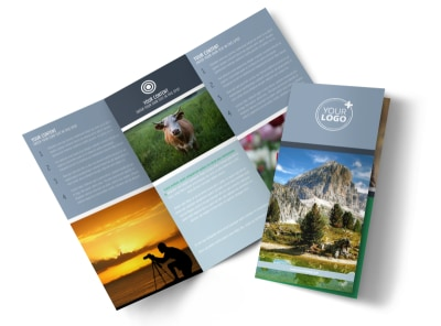 General Photography 2 Tri-Fold Brochure Template