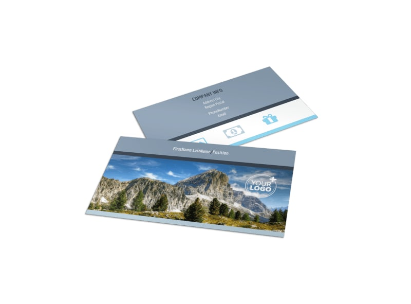 General Photography 2 Business Card Template