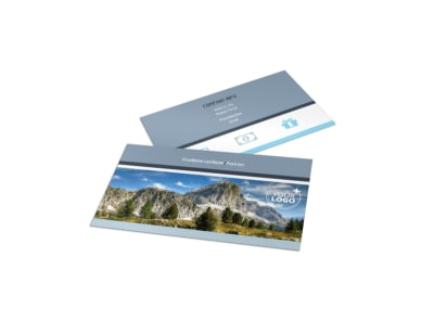 General Photography 2 Business Card Template preview