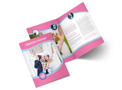 Wedding Photography Bi-Fold Brochure Template 2