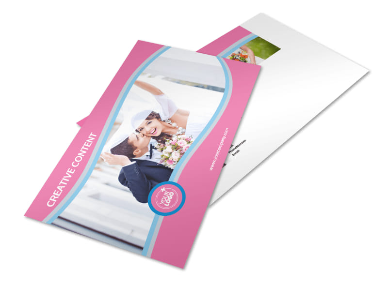 Wedding Photography Postcard Template Preview 4