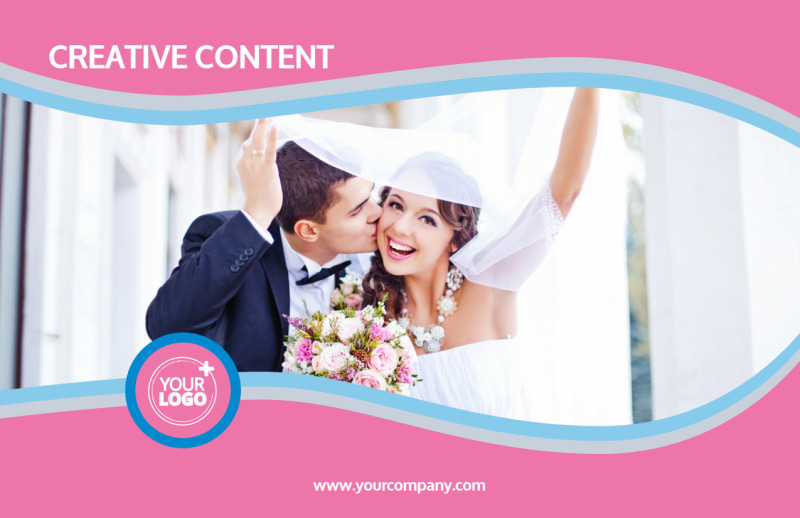 Wedding Photography Postcard Template Preview 2