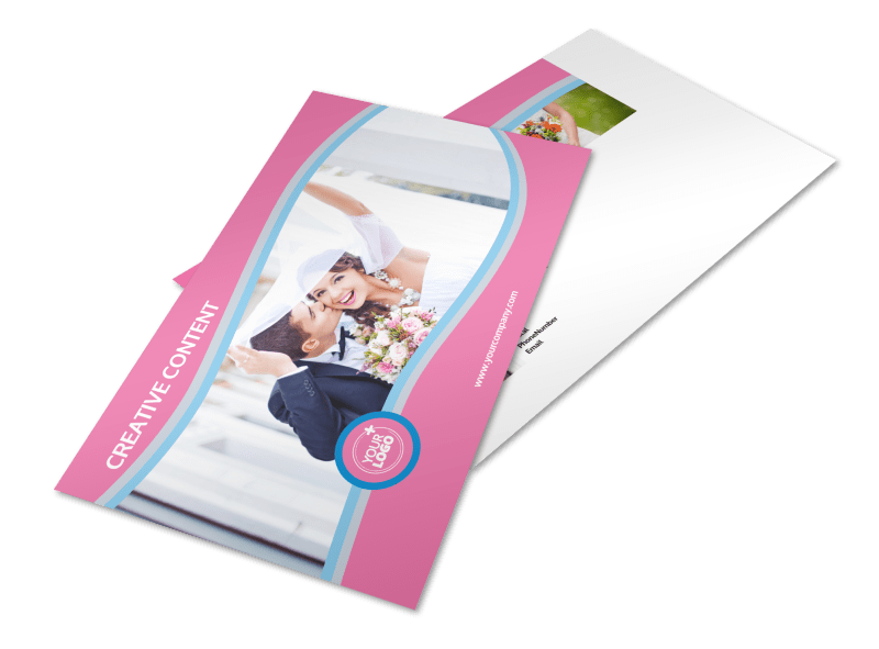 Wedding Photography Postcard Template Preview 1