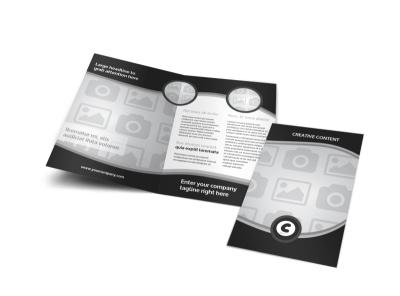 Generic Bi-Fold Brochure Template 8271