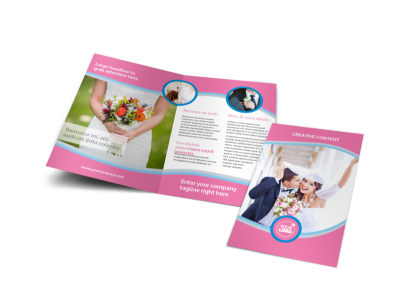 Wedding Photography Bi-Fold Brochure Template preview