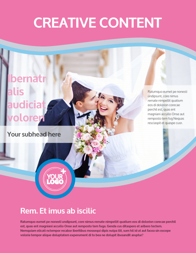 Wedding Photography Flyer Template Preview 2