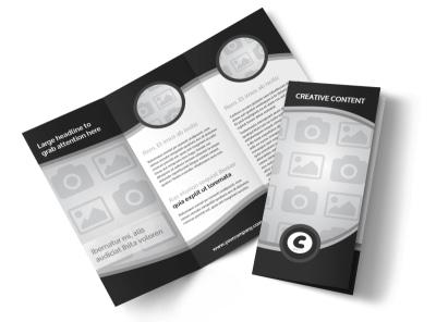 Generic Tri-Fold Brochure Template 8273
