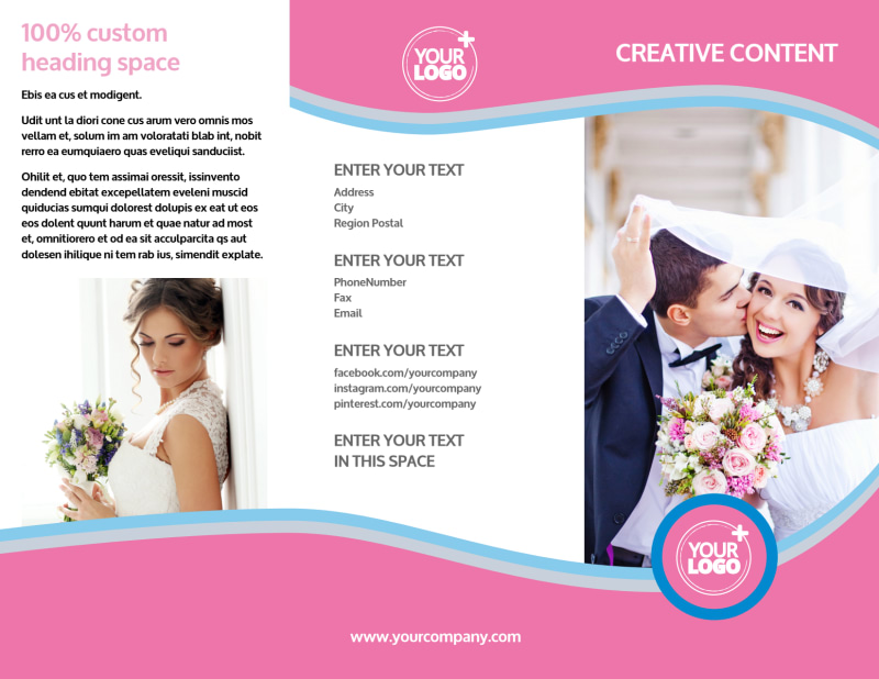 Wedding Photography Brochure Template Preview 2