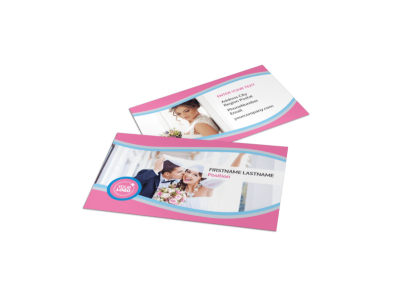 Wedding Photography Business Card Template preview