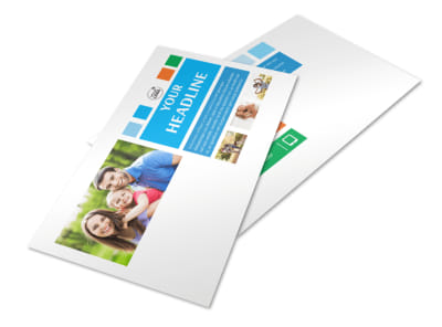 Family Photography Postcard Template 2