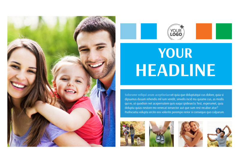 Family Photography Postcard Template Preview 2
