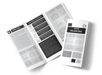 Generic Tri-Fold Brochure Template 8282 preview