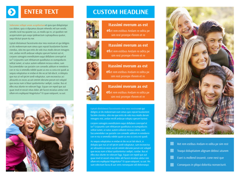 Family Photography Brochure Template Preview 3