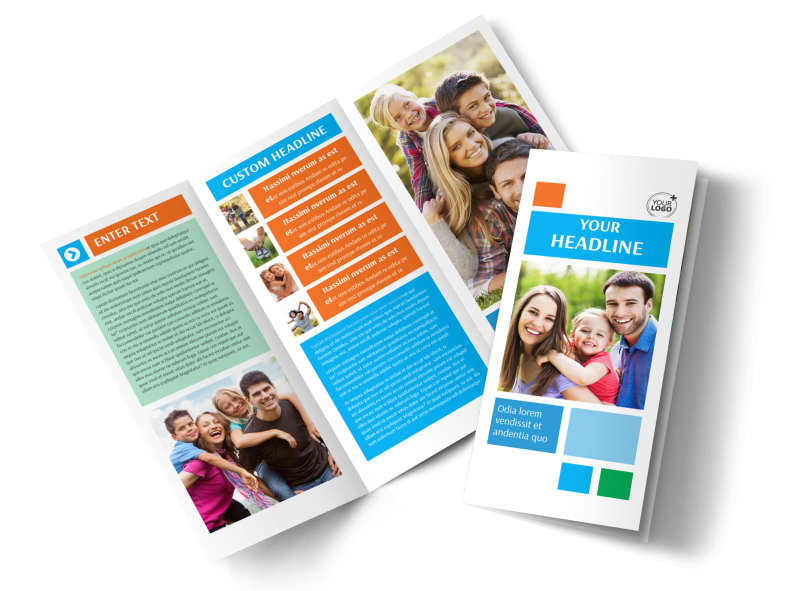 Family Photography Brochure Template Preview 1