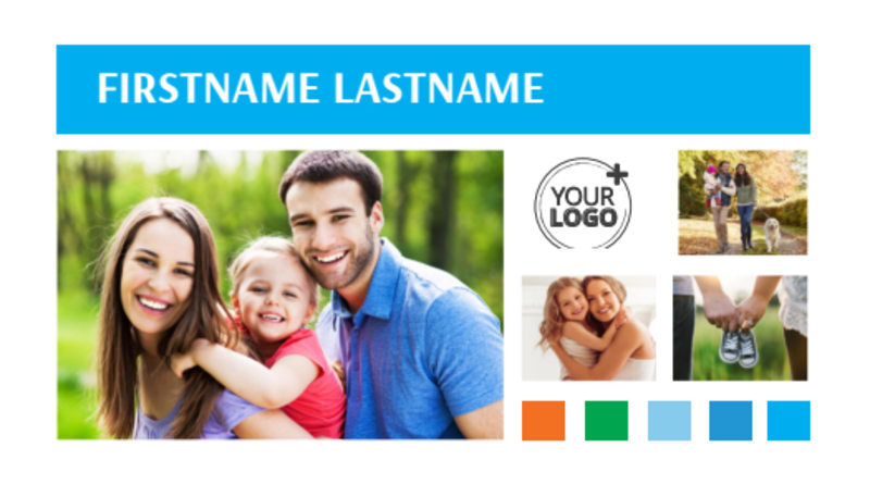 Family Photography Business Card Template Preview 2