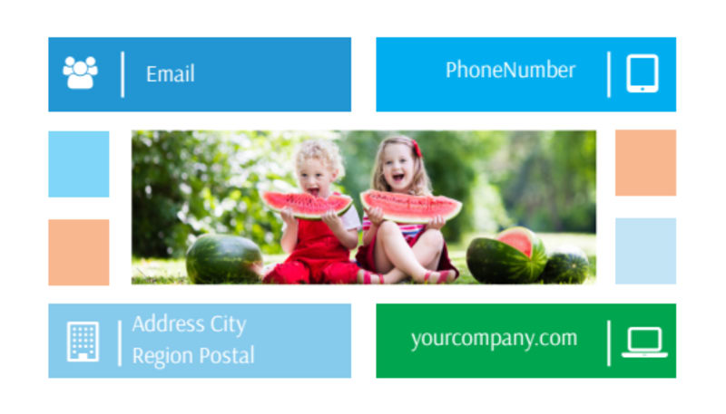 Family Photography Business Card Template Preview 3