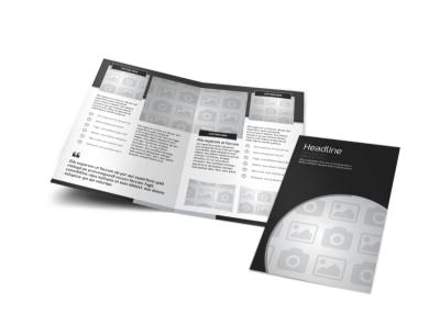 Generic Bi-Fold Brochure Template 8289 preview