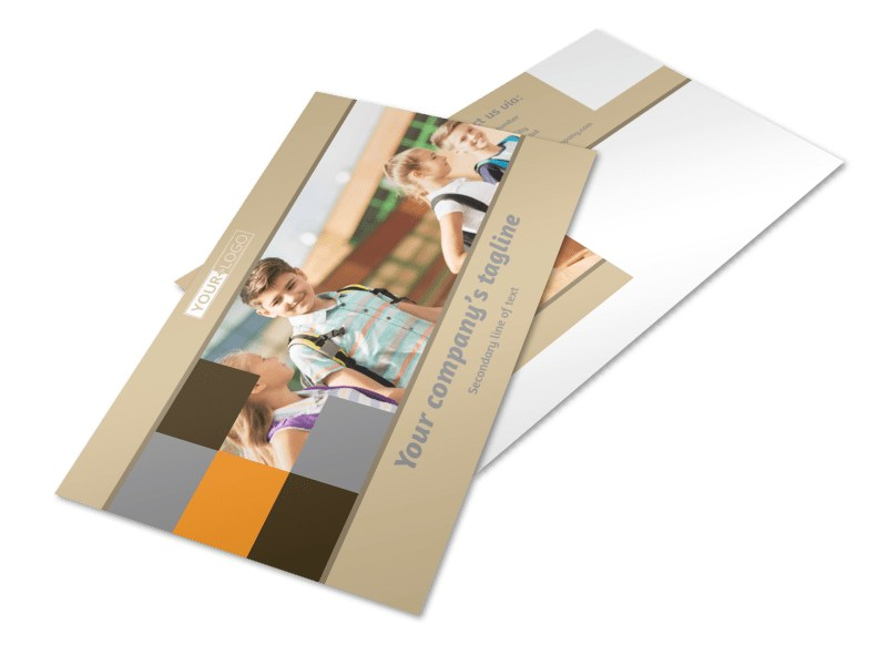 Back To School Postcard Template 2
