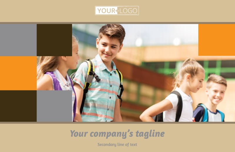 Back To School Postcard Template Preview 2