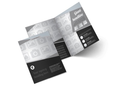 Generic Bi-Fold Brochure Template 8303