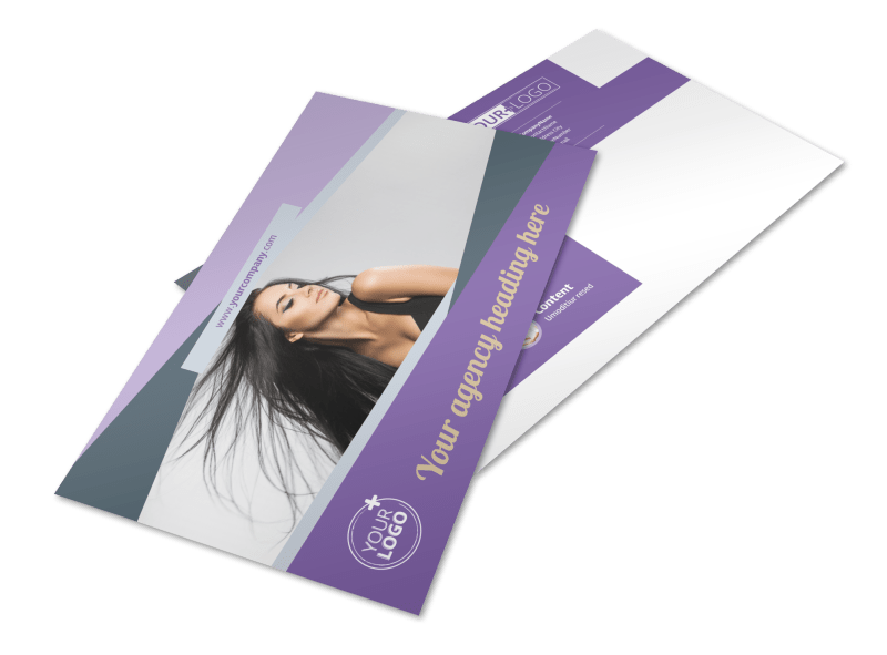 Photography Portfolio Postcard Template Preview 1
