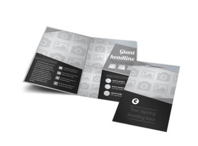 Generic Bi-Fold Brochure Template 8307