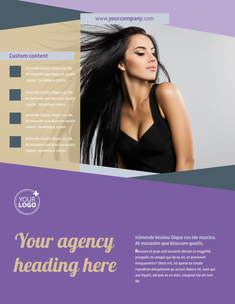 Photography Portfolio Flyer Template Preview 2