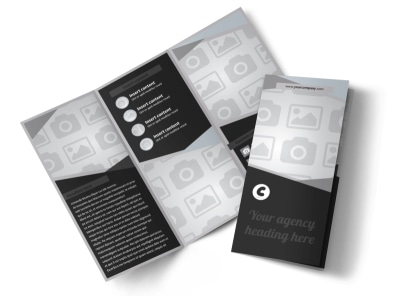 Generic Tri-Fold Brochure Template 8309