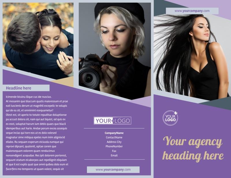 Photography Portfolio Brochure Template Preview 2