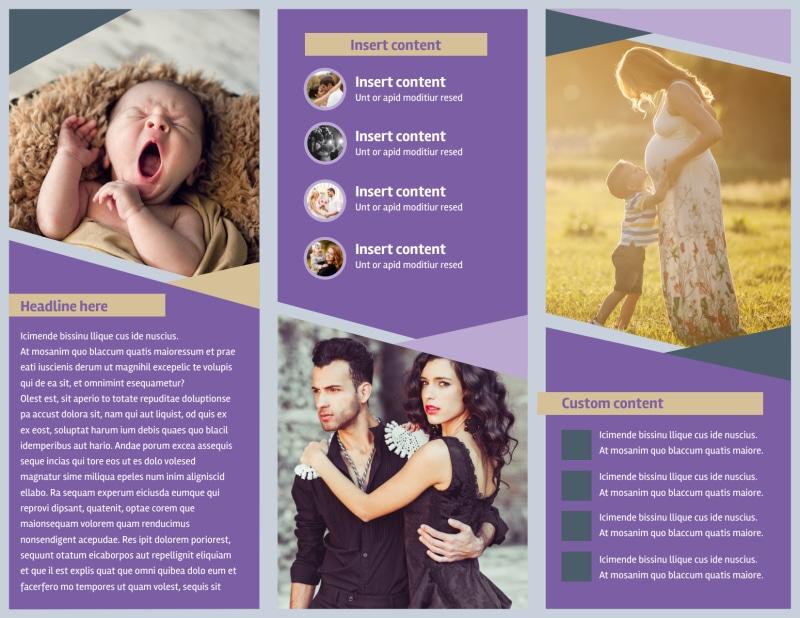 Photography Portfolio Brochure Template Preview 3