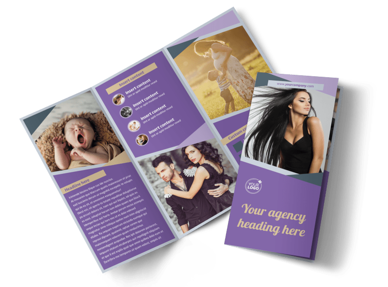 Photography Portfolio Brochure Template Preview 1