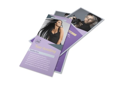 Photography Portfolio Flyer Template 2