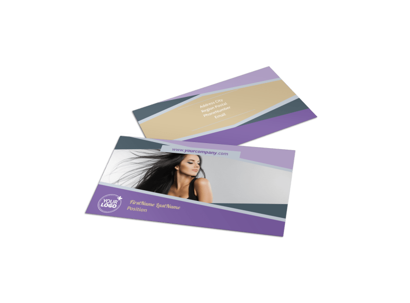 Photography Portfolio Business Card Template Preview 1