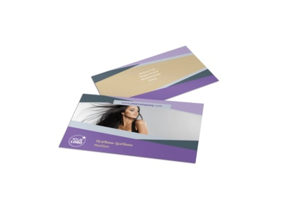 Photography Portfolio Business Card Template preview