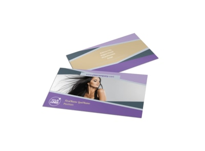 Photography Portfolio Business Card Template