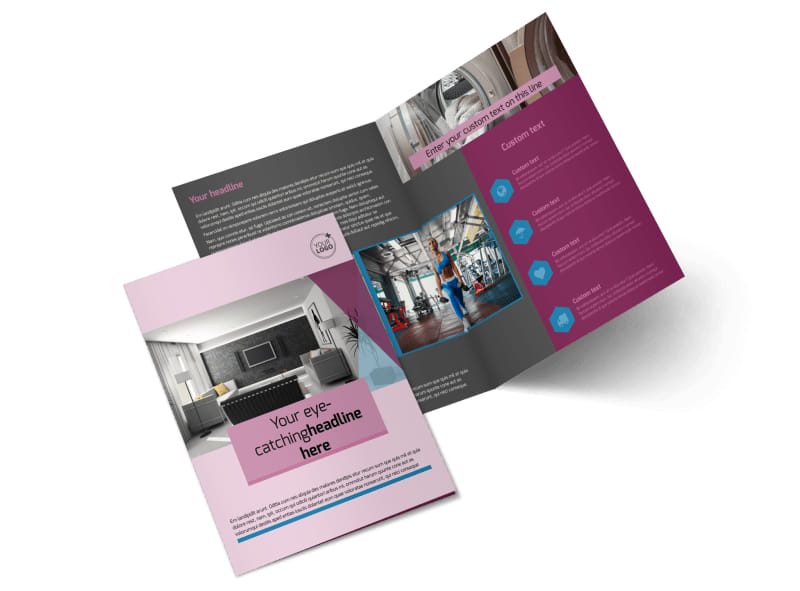 Apartment Living Bi-Fold Brochure Template 2